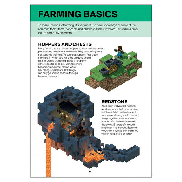 View 4 of Minecraft: Guide to Farming Book photo.