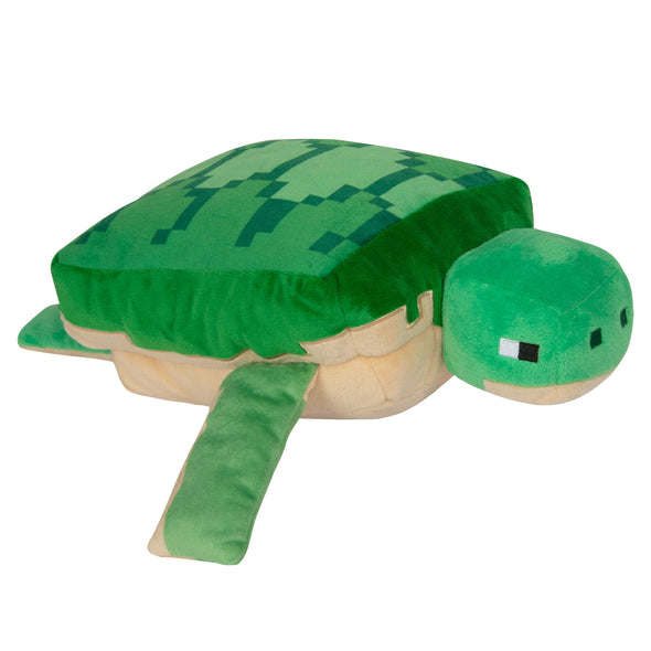 View 1 of Minecraft Adventure Sea Turtle Plush photo.