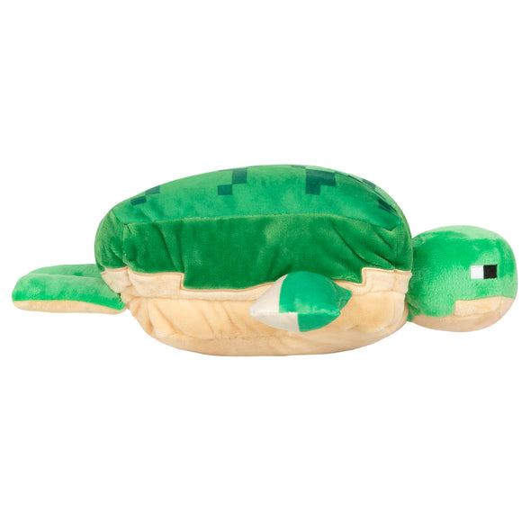 View 3 of Minecraft Adventure Sea Turtle Plush photo.