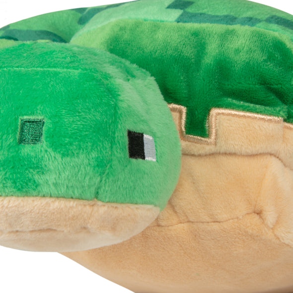 View 5 of Minecraft Adventure Sea Turtle Plush photo.