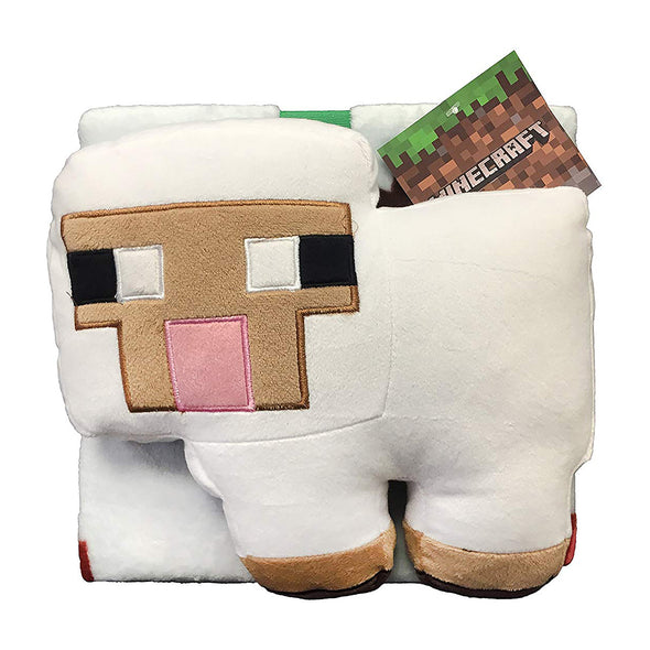 View 2 of Minecraft Sheep Pillow Buddy & Throw photo.