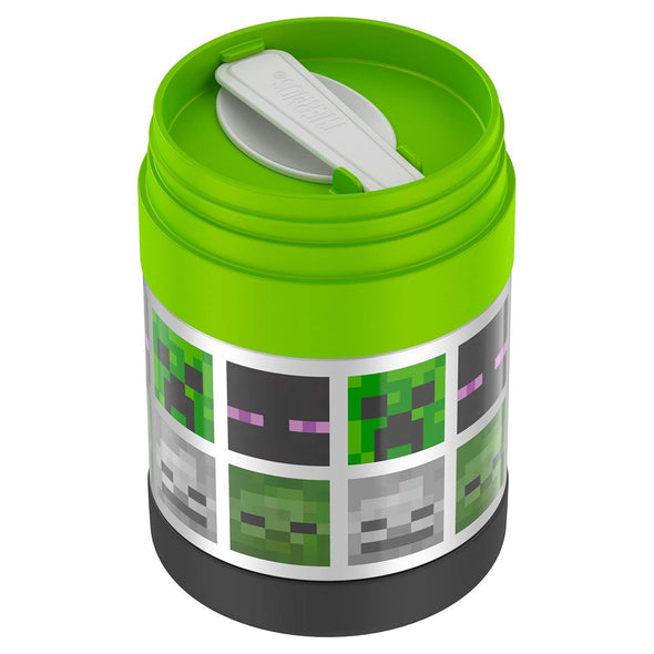 View 2 of Minecraft Thermos FUNtainer Food Jar photo.