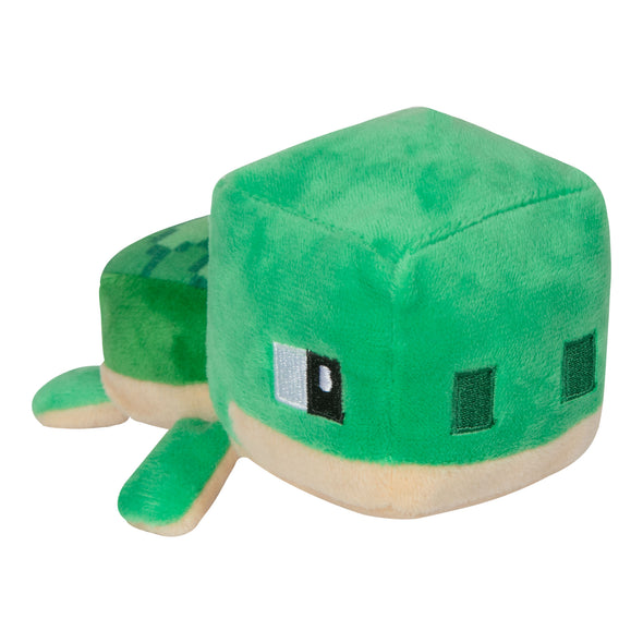 View 1 of Minecraft Mini Crafter Sea Turtle Plush photo.