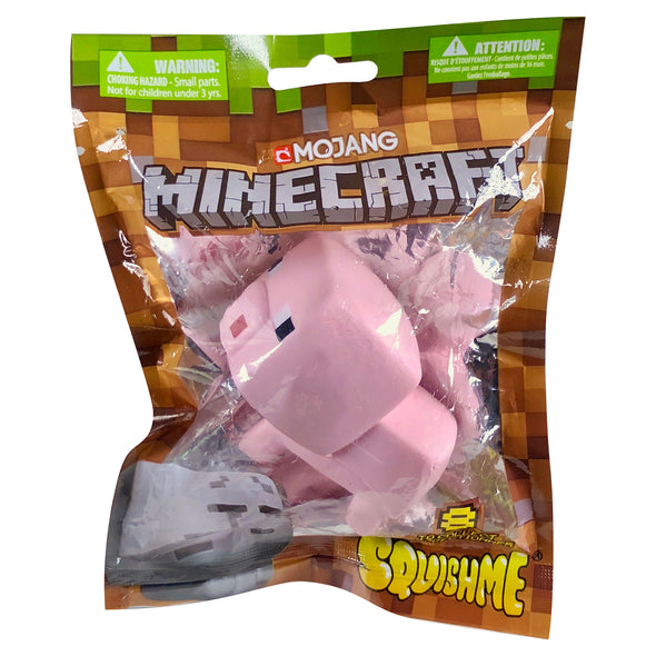 View 4 of Minecraft SquishMe Pig Foam Toy photo.
