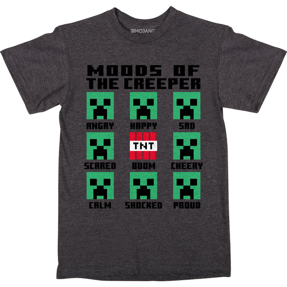 View 1 of Minecraft Feelings Youth Tee photo.