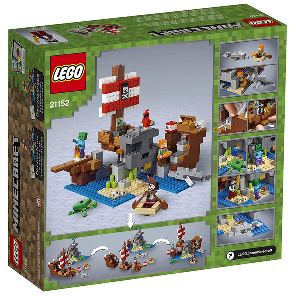 View 5 of Minecraft The Pirate Ship Adventure LEGO Building Set photo.
