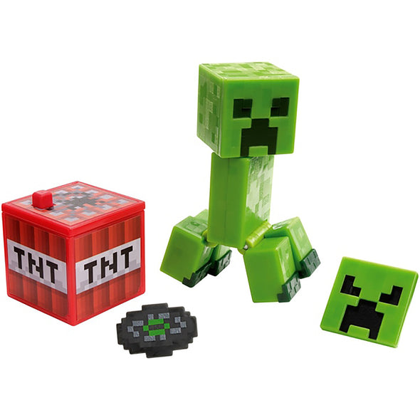 View 1 of Minecraft Creeper Comic Maker Action Figure photo.