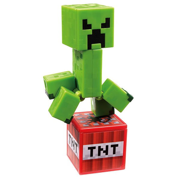 View 3 of Minecraft Creeper Comic Maker Action Figure photo.