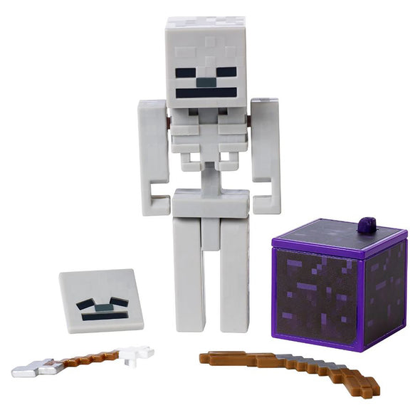 View 1 of Minecraft Skeleton Comic Maker Action Figure photo.