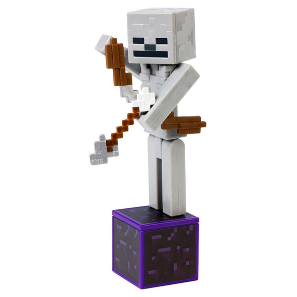 View 3 of Minecraft Skeleton Comic Maker Action Figure photo.