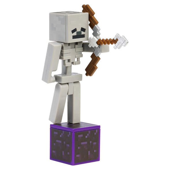 View 4 of Minecraft Skeleton Comic Maker Action Figure photo.