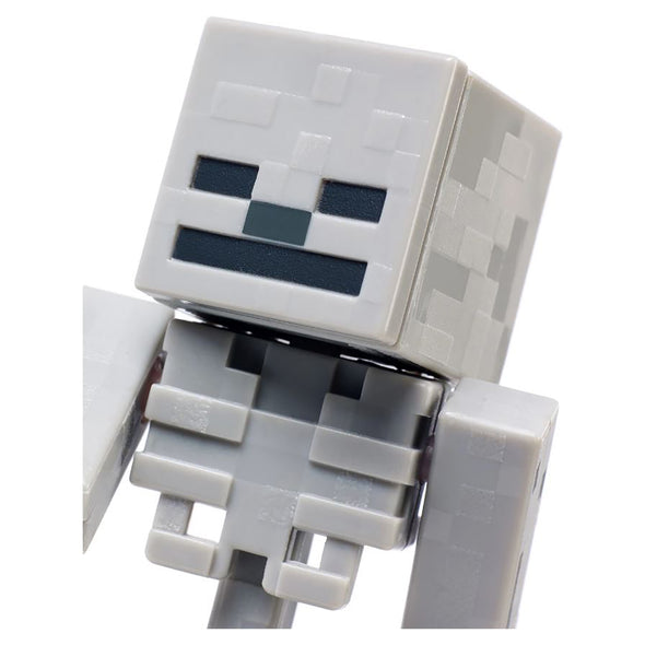 View 5 of Minecraft Skeleton Comic Maker Action Figure photo.