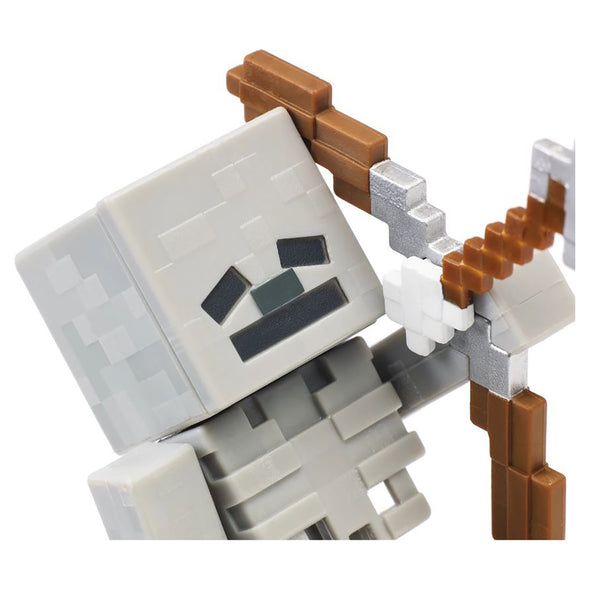 View 6 of Minecraft Skeleton Comic Maker Action Figure photo.