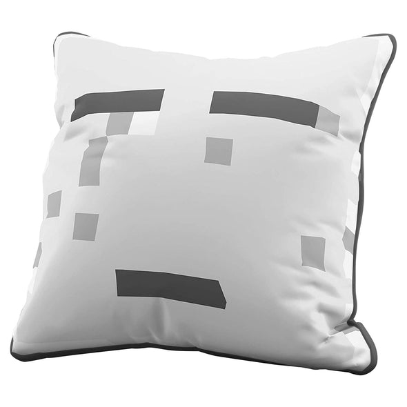 View 1 of Minecraft Ghast Pillow Cover photo.
