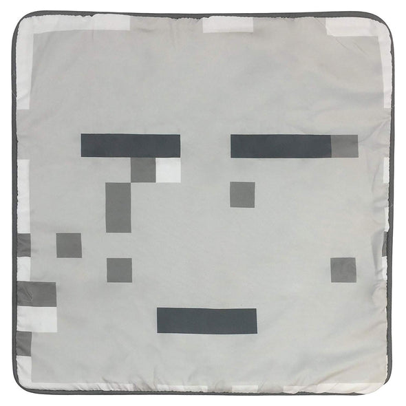 View 2 of Minecraft Ghast Pillow Cover photo.