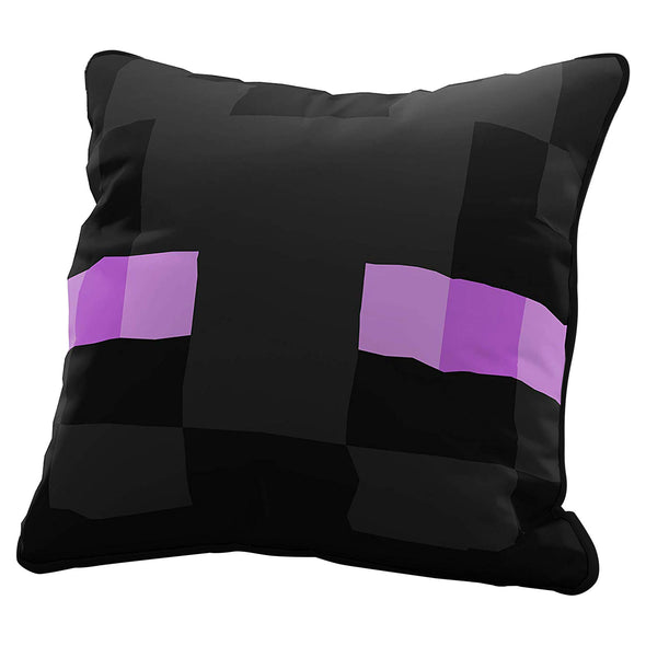 View 1 of Minecraft Enderman Pillow Cover photo.