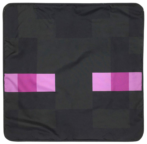 View 2 of Minecraft Enderman Pillow Cover photo.
