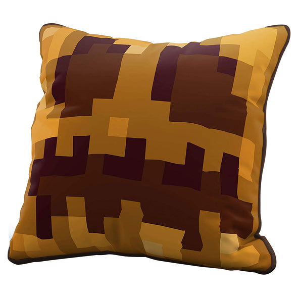 View 1 of Minecraft Pumpkin Head Pillow Cover photo.