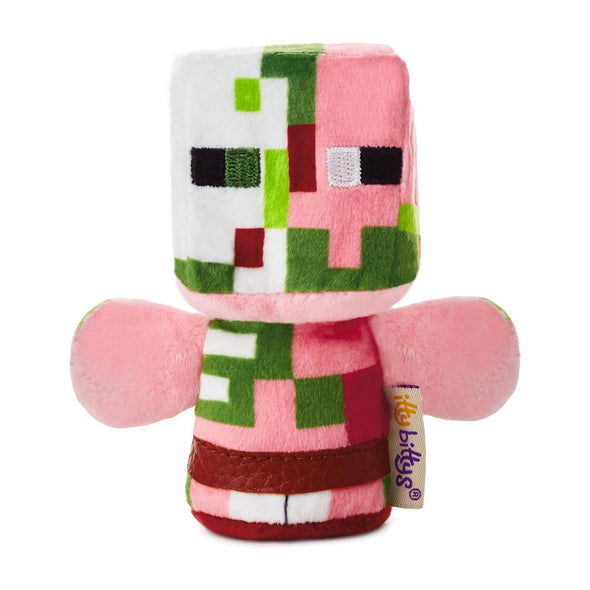 View 1 of Minecraft Itty Bittys Zombie Pigman Plush photo.