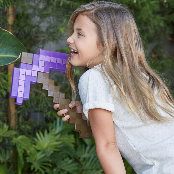 View 2 of Minecraft Enchanted Pickaxe Roleplay Toy photo.