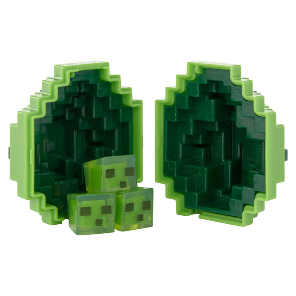 View 2 of Minecraft Slime Mini-Figure Spawn Egg photo.