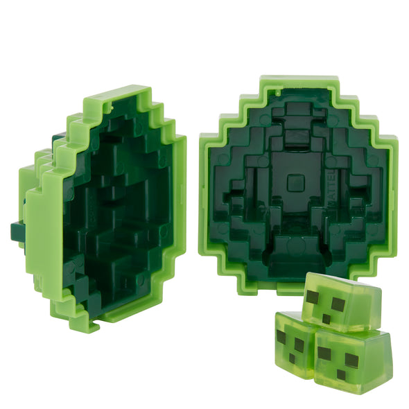 View 3 of Minecraft Slime Mini-Figure Spawn Egg photo.