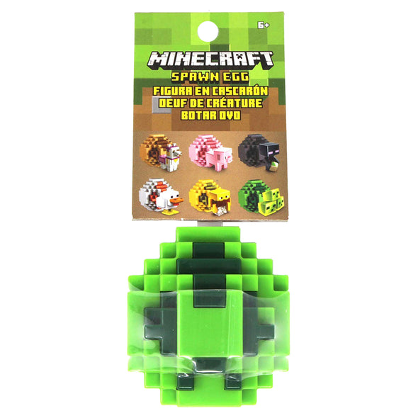 View 5 of Minecraft Slime Mini-Figure Spawn Egg photo.