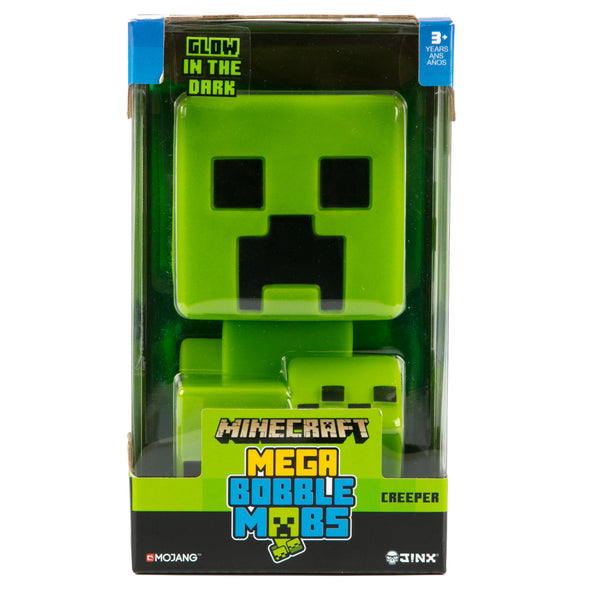 View 4 of Minecraft Creeper Mega Bobble Mob photo.