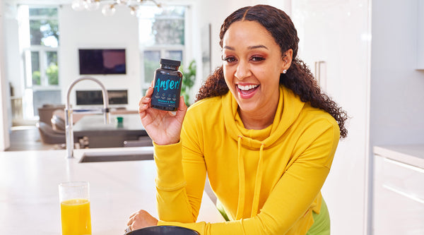 Tia Mowry Encourages Women to Take Charge of Their Health With Anser