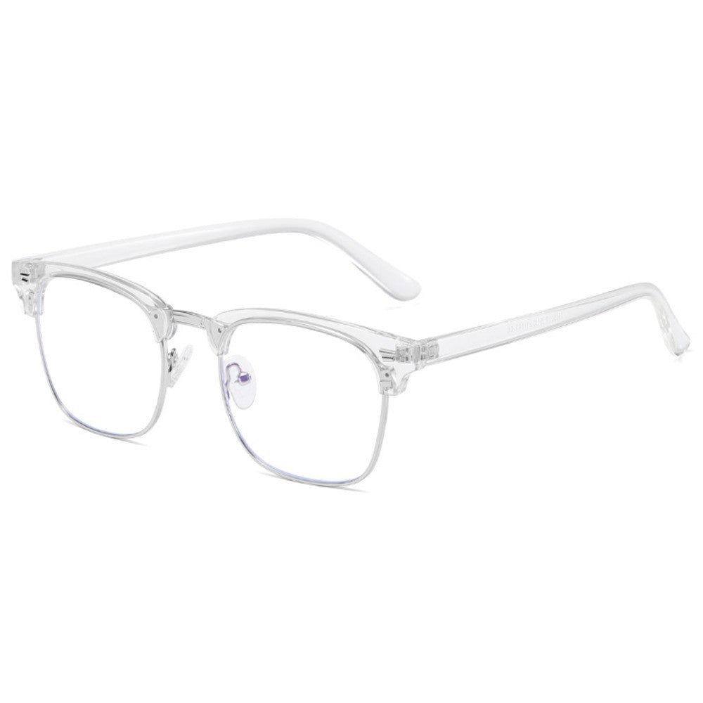 Blue Light Glasses for Computer Anti Glare Half Frame Clubmaster