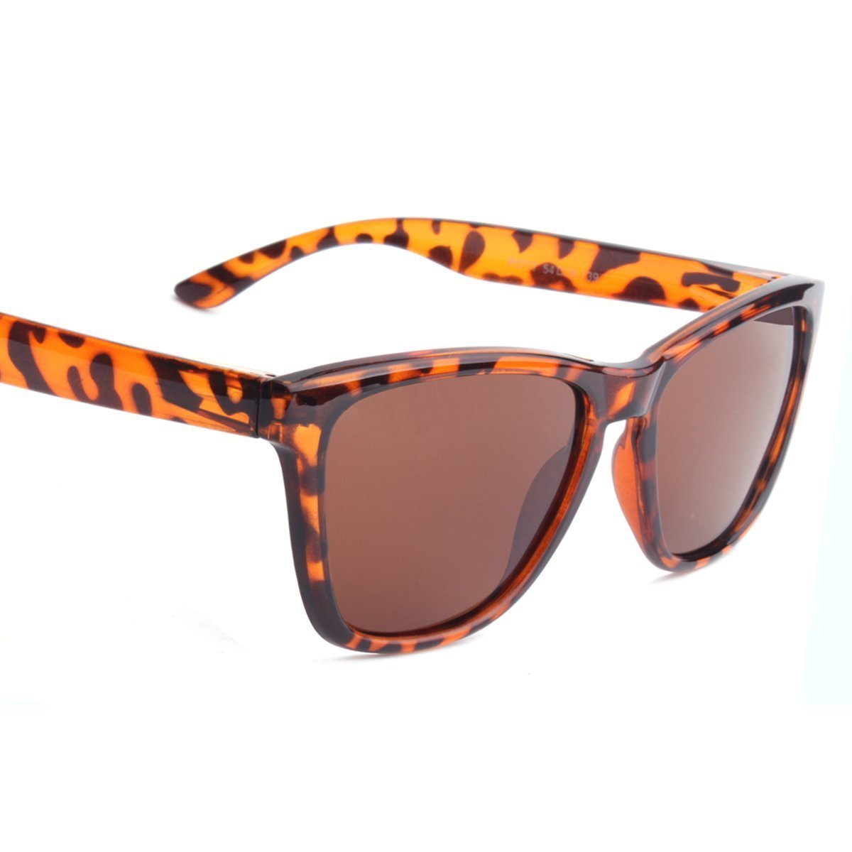 Polarized Sunglasses for Men/Women Gradient Wayfarer Frame - Leopard - Teddith Blue Light Blocking Glasses for Computer Gaming Anti Glare Reduce Eye Strain Screen Glasses