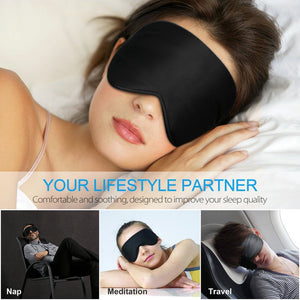 100% Natural Silk Sleep Mask Blindfold Ultra Soft Eye Mask - Teddith Blue Light Blocking Glasses for Computer Gaming Anti Glare Reduce Eye Strain Screen Glasses