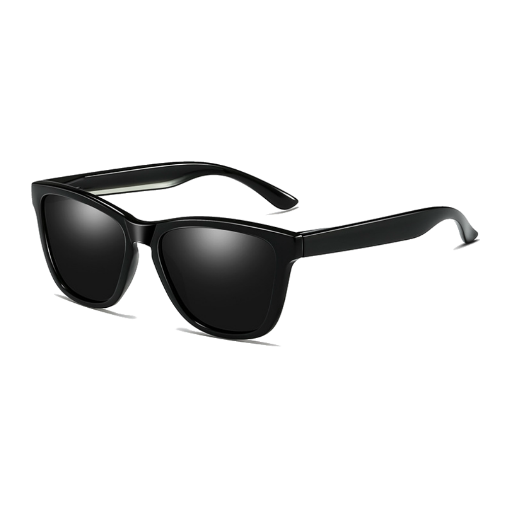 Polarized Sunglasses for Men/Women Gradient Wayfarer Frame - Black