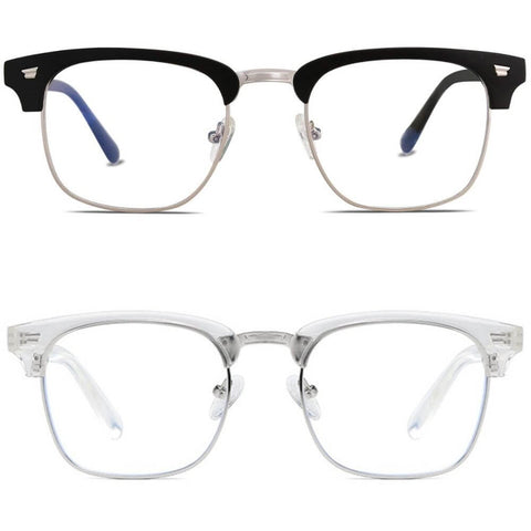Blue Light Blocking Glasses - Clubmaster (2 Pack)