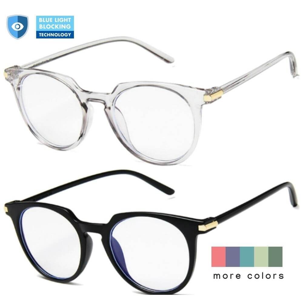Blue Light Blocking Glasses - Molly (2 Pack)