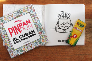 Pin Pan Pun El Cuban Coloring Book