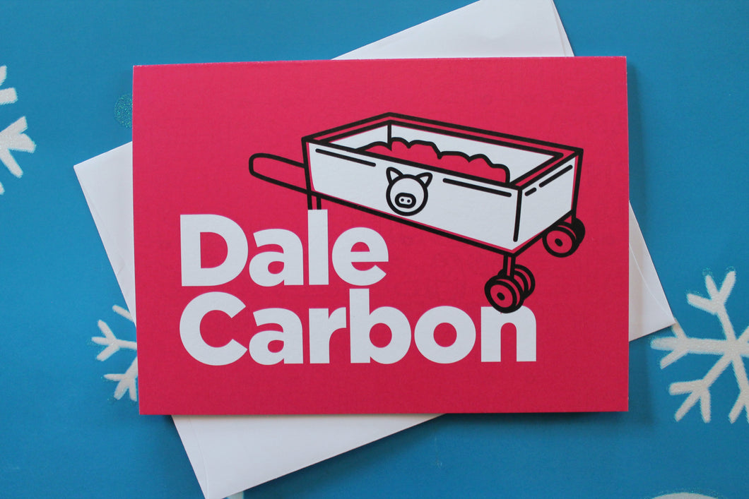 Latin Greeting Card: Dale Carbon