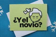 Load image into Gallery viewer, Latin Holiday Card: ¿Y el novio?