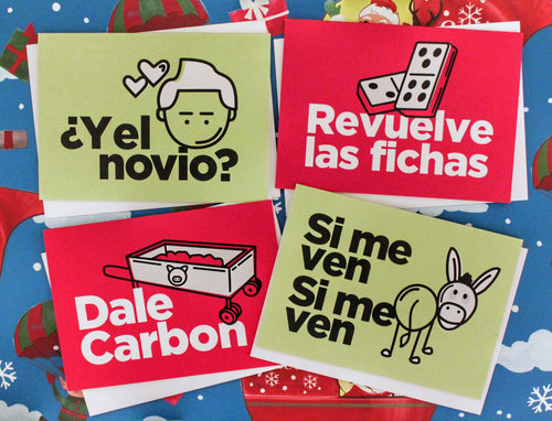 Latin Holiday Cards 4-Pack