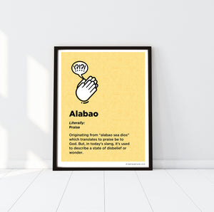 P+Co. Digital Print: Alabao