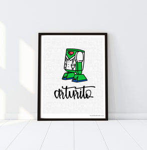 P+Co. Digital Print: Arturito