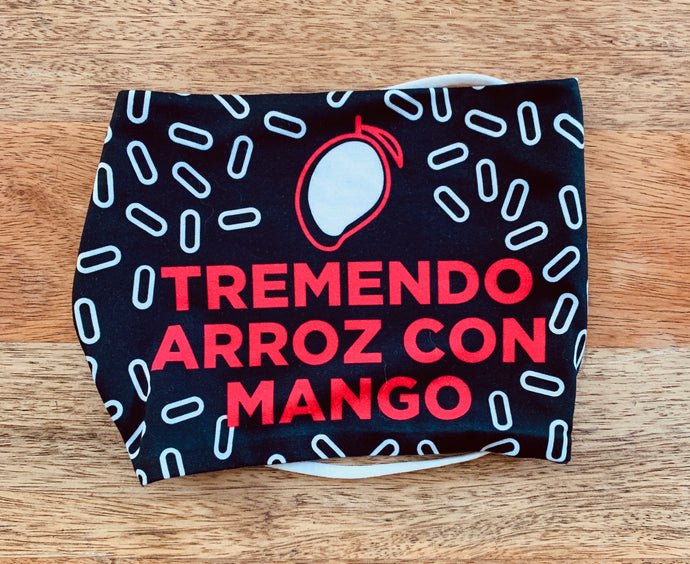 Face Mask: Tremendo Arroz Con Mango