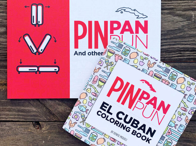 Pin Pan Pun Bundle: The Book & El Coloring Book