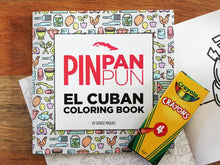 Load image into Gallery viewer, Pin Pan Trilogy: Vol 1, Vol 2 and El Coloring Book