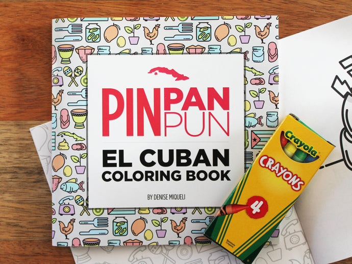 Pin Pan Pun: El Coloring Book