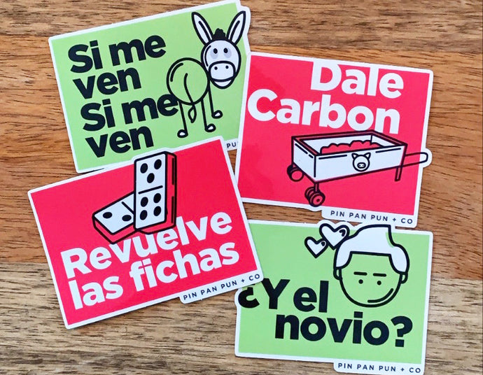 Latin Holiday Sticker Pack