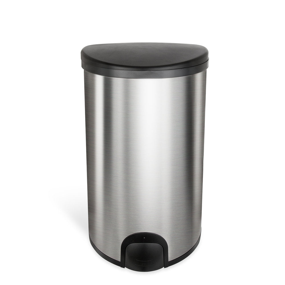 Semi-Round Tap Sensor Trash Can 13.2 Gallon