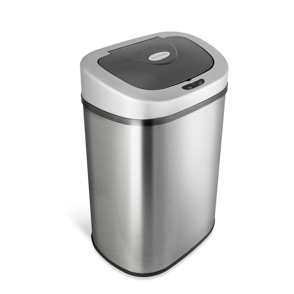 Rectangular Motion Sensor Trash Can 21.1 Gallon
