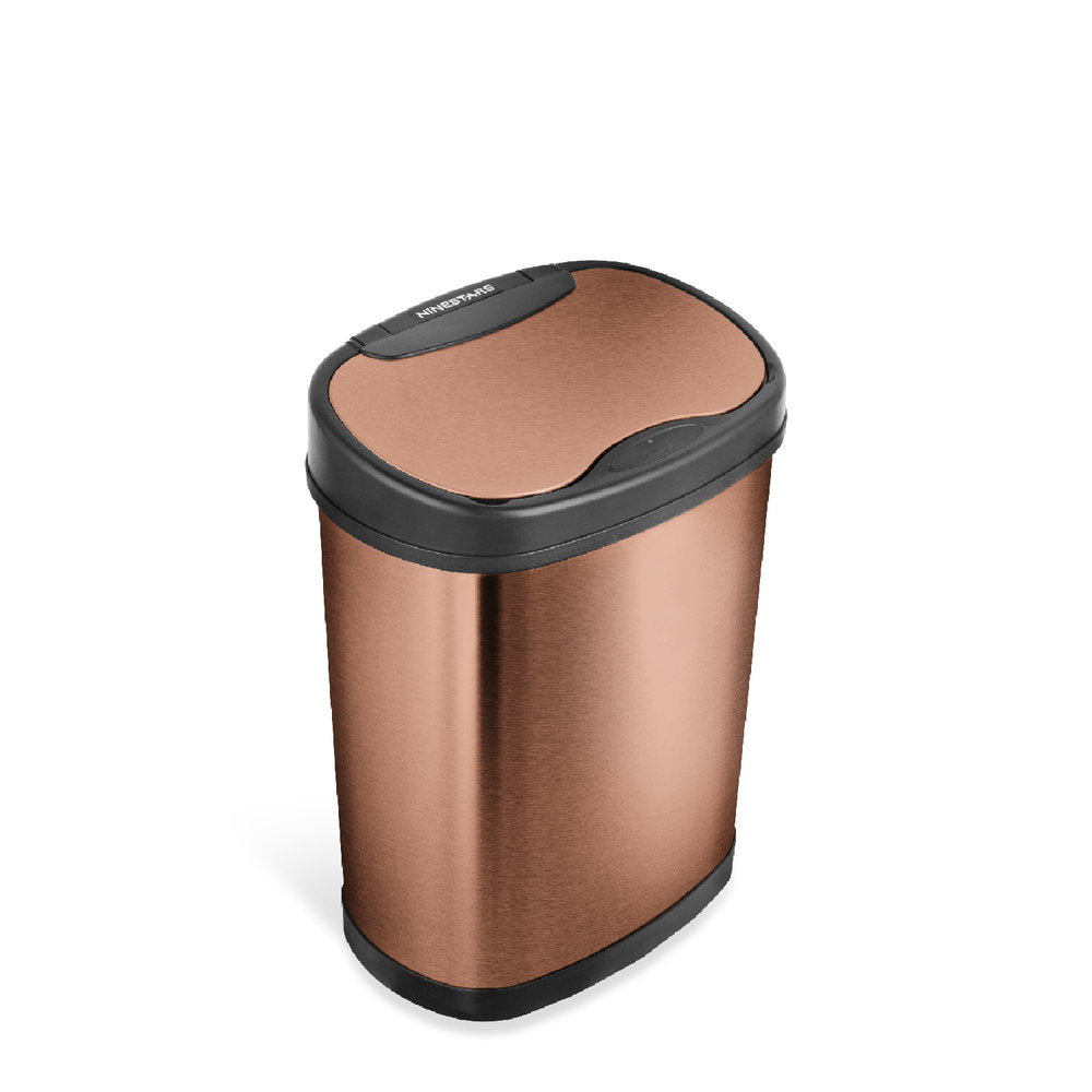 Oval Motion Sensor Trash Can 3.9 Gallon
