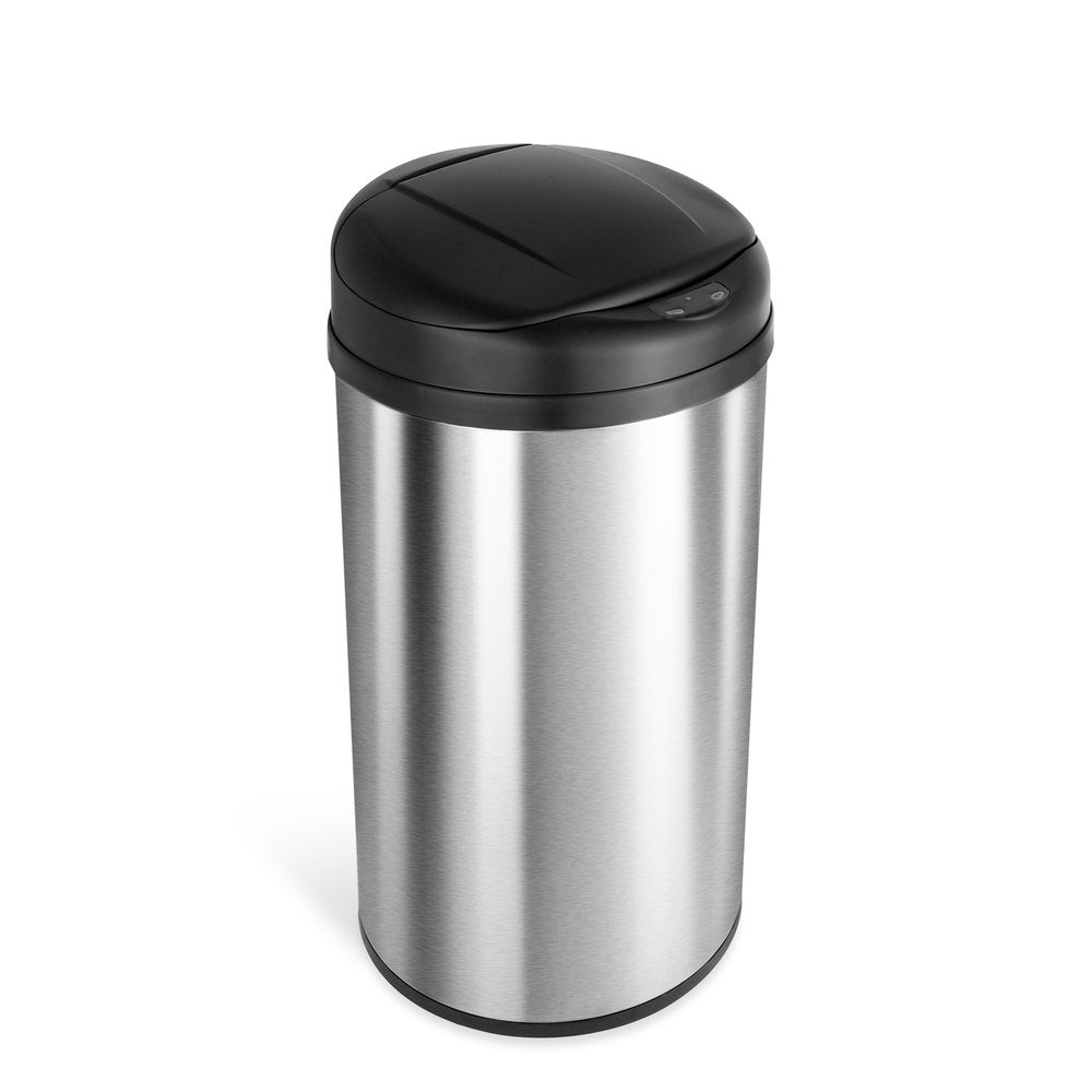 Round Motion Sensor Trash Can 13 Gallon